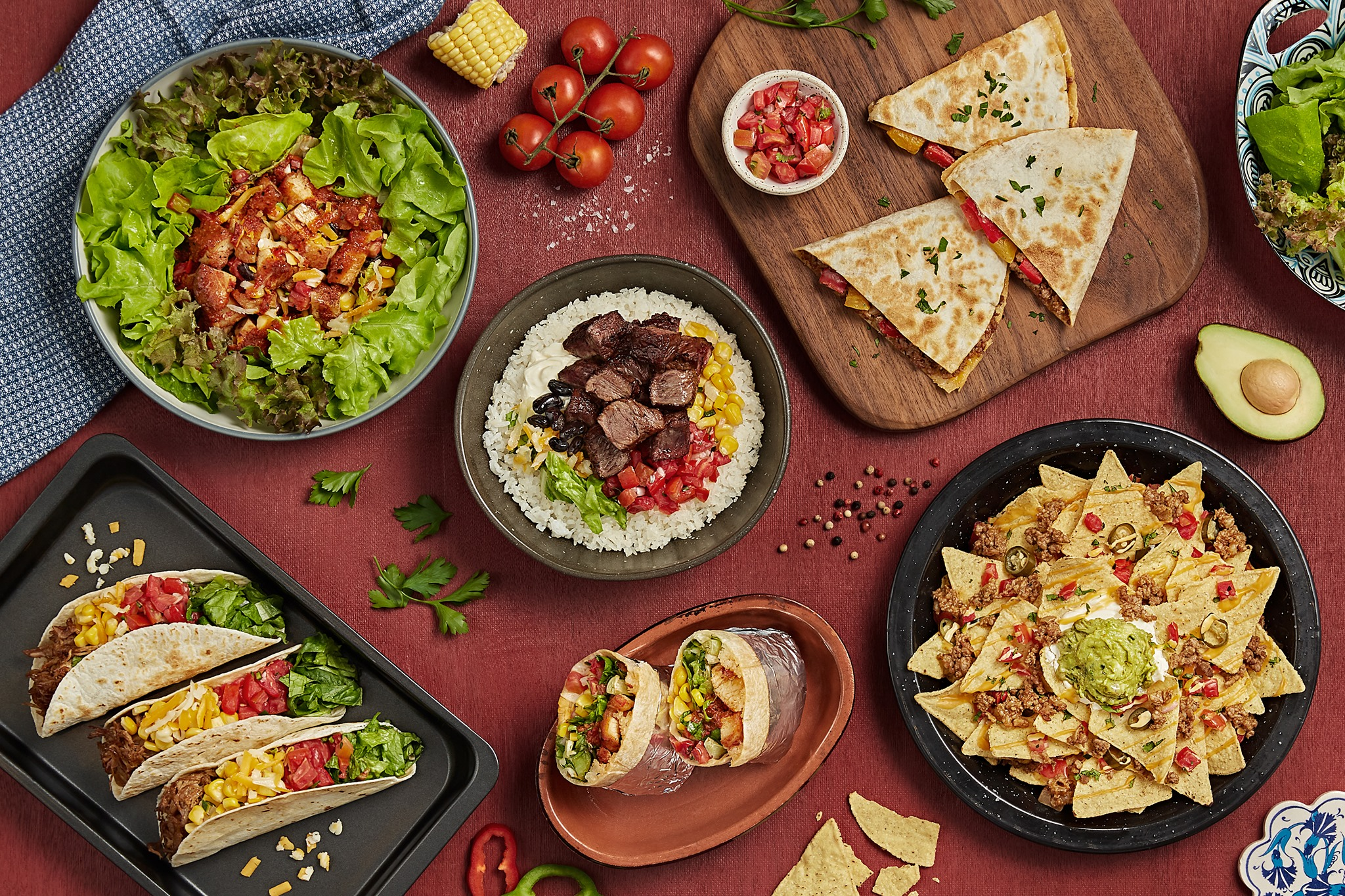 Bowlito Mexican Kitchen Menu