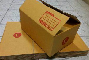 กล่องไปรษณีย์แบบฝาชน